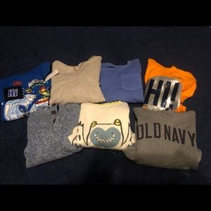 10Boys sweatshirts-hoodies! All in great condition